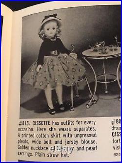 Crispy Mint Madame Alexander Cissette, #815, Box & Booklet