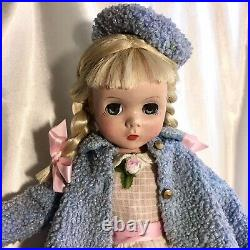 Delightful! 1950s Vintage Madame Alexander 18 Maggie as Polly Pigtails