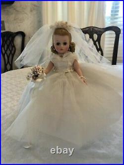 Gorgeous 1950s era MA Cissette bride