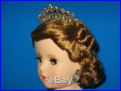 HTF! 1953 Mme Alexander Queen Elizabeth 18 Margaret Doll Glamor Girl Series
