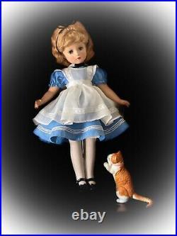 HTF 21 Vintage Madame Alexander ALICE In WONDERLAND Doll withMargaret Face