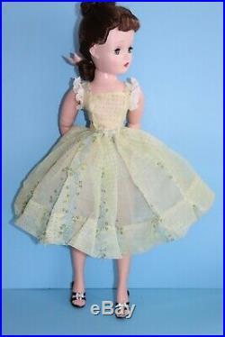 HTF Flocked Nylon Sun Dress Only Vintage Madame Alexander Cissy (No Doll)