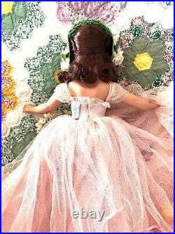Hard Plastic Mdm. Alexander 1951 15 Rosamund Bridesmaid Doll