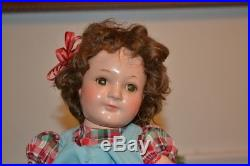 JANE WITHERS MADAME. ALEXANDER COMPO DOLL 12-13 Tall WithCLOSED MOUTH 1937-39