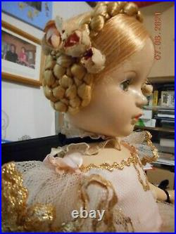 Karen Ballerina Madame Alexander 18 Compo Vintage