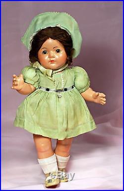 Large, All-original Composition Dionne Quintuplet Toddler Cecile