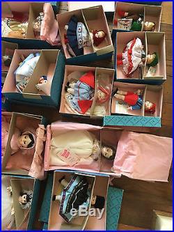 Lot 25 Madame Alexander Dolls New in box, Rebecca, Juliet, Antony, Little Women