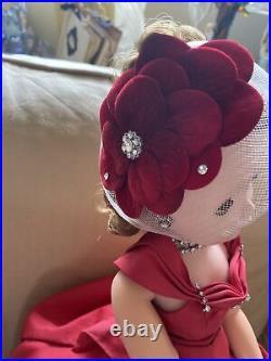 Lovely Cissy Rhinestone Side Drape Madame Alexander 1956 Original Clothing