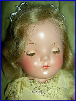 Lovely compo. Alexander tgd. 13 PRINCESS ELIZABETH, Betty doll A/O excellent