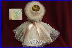 MADAME ALEXANDER 1950's Dark Blonde Cissette Tagged Gown GORGEOUS