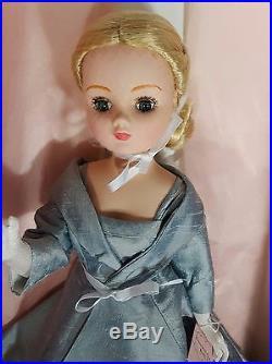 MADAME ALEXANDER CISSY Doll Baby #50070 Premiere Gala Grace Kelly Blue Dress Box
