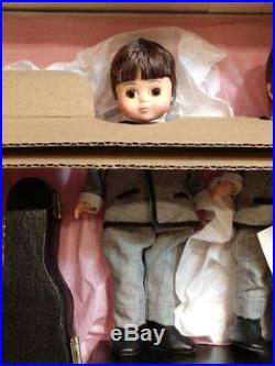 MADAME ALEXANDER dolls 8 BEATLES dolls SET 3 GUITARS NEW Rock N Roll RARE