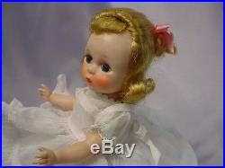 MADAME ALEXANDER-kins 1955 Blonde SLW MAYPOLE Outfit BEAUTY