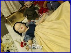 MARGARET 18 SNOW WHITE Madame Alexander 1952 OOAK MINK CAPERARE! DISNEY COLORS