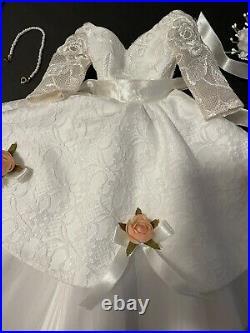 Madam Alexander Cissy 21 Inch MADCC 2002 June Bride #/300 Dress Rare LE