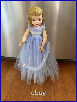 Madam Alexander Elise Waltz Formal Ball Gown Cornflower Tulle, VHTF Wow! Cissy