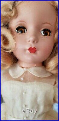 Madame Alexander 15 Peggy Bride, 1950 Hard Plastic