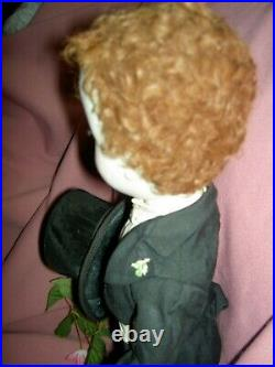 Madame Alexander. 18 in. Tgd. 1953 PRINCE PHILIP, rare Beaux Arts Series doll