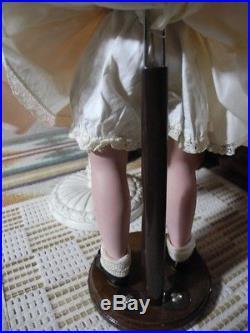 Madame Alexander 1940s Suntan Margaret Doll Blonde Mohair Pink Dress + Shoes 14