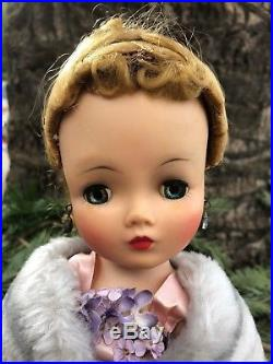 Madame Alexander 1950's Cissy Doll With Original Tagged Outfit