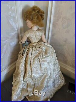 Madame Alexander 1950s vintage 20 21 Cissy doll in Queen Elizabeth Gown