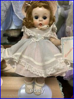 Madame Alexander 1954 8 Maypole Dance Kin -Near Mint! Paper Wrist Tag