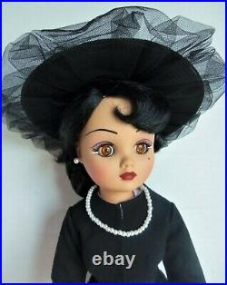 Madame Alexander 21 MIDNIGHT CISSY Doll, LE 250 MADCC 2003 Bend Knee, Box