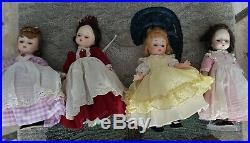 Madame Alexander 8 Dolls Lot of 17 International dolls