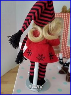 Madame Alexander 8 Edith The Lonely Doll Holiday Trunk Set In Original Box