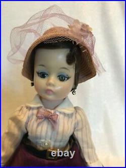 Madame Alexander Brown Hair Cissette Doll 9