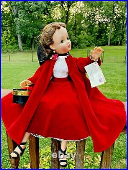 Madame Alexander Brunette Cissy Doll 1956 Tagged Outfit