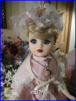 Madame Alexander Cissy Doll Pink Dotted Suit Outfit Bustle Hat Parasol Shoes 21