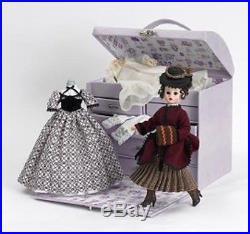 Madame Alexander Doll 48400 Little Women Beth's Doll Trunk Set NIB