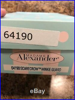 Madame Alexander Doll 64190 Wizard of Oz Scarecrow Winkie Guard NRFB 8 Retired
