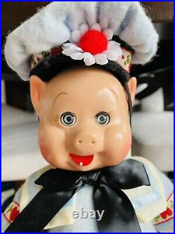 Madame Alexander Doll Set Three Little Pigs 10 with Box Story Book Tag Nice