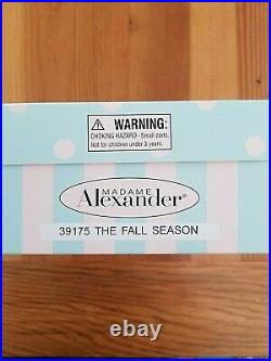 Madame Alexander Doll The Fall Season 39175 (2004 for Colonial Williamsburg)