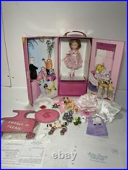 Madame Alexander ELOISE's Ultimate Tea Party Trunk Set, 8 Doll, RARE
