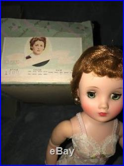 Madame Alexander Elise #1700 doll 1950's era Mint with box