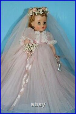 Madame Alexander Elise Pink Bride VHTF 1959 Excellent