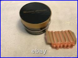 Madame Alexander Hat Box Black Cissy and curlers with comb MINT #026