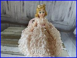 Madame Alexander Melinda cissette 1969 doll vintage pink dress formal