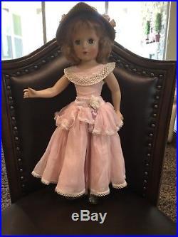 Madame Alexander Princess Margaret Rose Hard Plastic Doll