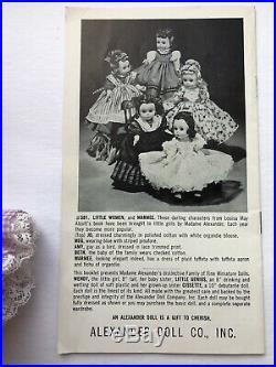 Madame Alexander Vintage 1950's Cissette 10 Doll MINT