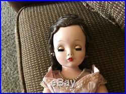 Madame Alexander Vintage Cissy Doll 1955 Mauve Torso Gown #2100