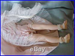 Madame Alexander Vintage Hard Plastic Mint Cissy-faced Flower Girl Doll