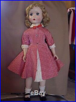 Madame Alexander Vintage Pristine Maggie Teenager Doll, Impressive 21 Inch Size