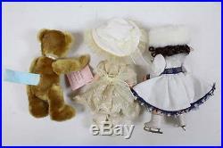 Madame Alexander WENDY Scarlett CINDERELLA Dorothy BEAR Horse Dolls LOT 9