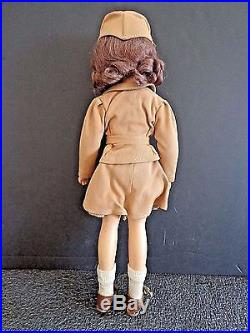 Madame Alexander W. A. C. Military Doll in Original Outfit 14 INV2634