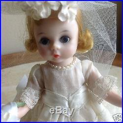 Madame Alexander Wendy Bride 8 Doll1964