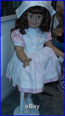 Madame Alexander doll NURSE'S AIDE JOANIE Doll CHILD SIZE 36 PLAYPAL TYPE RARE